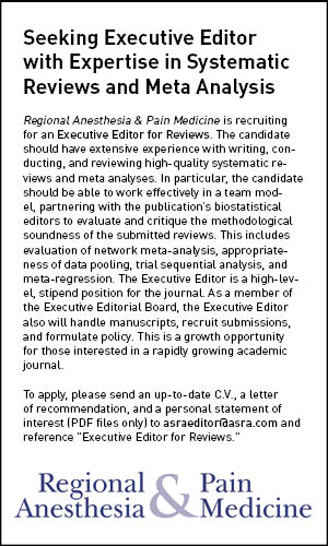 Ad for Executive Editor.