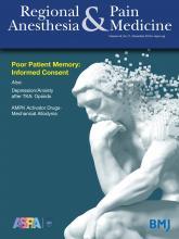Regional Anesthesia & Pain Medicine: 44 (11)