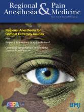 Regional Anesthesia & Pain Medicine: 44 (12)