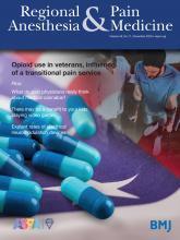 Regional Anesthesia & Pain Medicine: 45 (11)