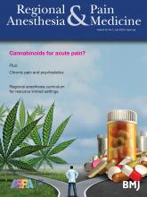 Regional Anesthesia & Pain Medicine: 45 (7)