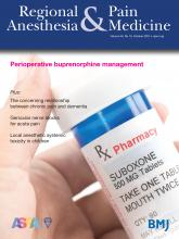 Regional Anesthesia & Pain Medicine: 46 (10)